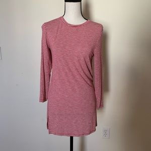 Old Navy Striped Luxe Tunic Top